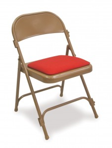 162SP Padded folding chair