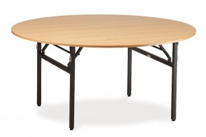 easy fold round table