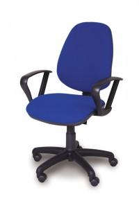 High Back Swivel Armchair