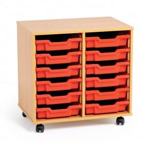 classroom storage trays