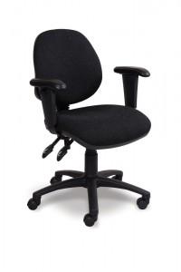 Mid Back Adjustable Swivel Armchair