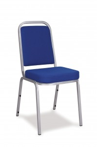padded stacking chair