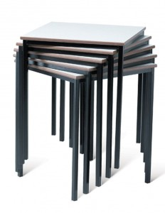 Spiral Stacking Tables
