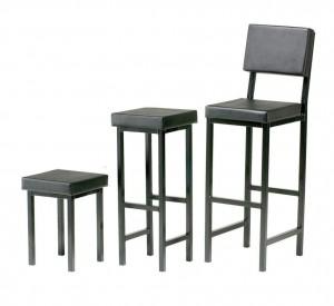 Advanced Upholstered Square StoolsAdvanced Moulds Furniture