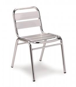 Outdoor aluminium chair