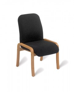 408 Wooden lounge chair