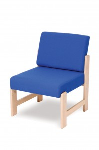 450W wooden lounge chair