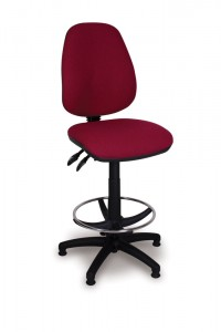 High Back Draughting Chair