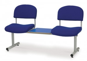 Beam seat with table