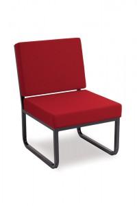 Skid Base Reception Chair