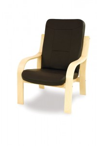 heavy duty wooden lounge chair