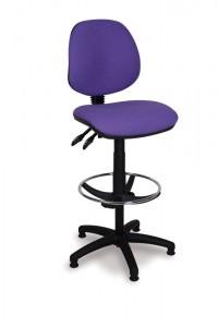 Medium back draughting chair
