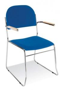 vesta stacking armchair