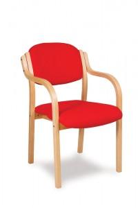 Heavy Duty Bentwood Armchair
