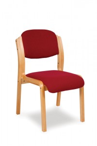 Heavy Duty Bentwood Stacking Chair